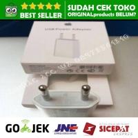 adaptor kepala charger iphone 5 5s 5c 6 6s 7 8 + X ipad mini ORIGINAL