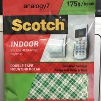 scotch Double Tape Mounting kotak 25.4 mm 3M Scotch 110-1D