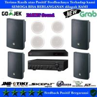 Paket Sound System Toa 4x ZR 646 R - 4x ZS 1030 Original Cafe