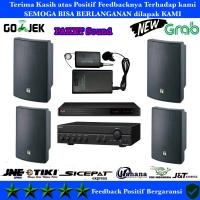 Paket Sound System Toa 4x ZS 1030 Mic Wireless Clip On Original Cafe