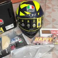 IMLEK SALE! Helm fullface AGV Pista GPR Rossi Soleluna 2018 asianfit M