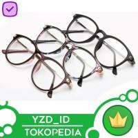 Kacamata Pria dan wanita Transparan bingkai optik retno