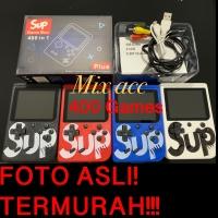 Gameboy Retro FC 400 Games Console Game Mini gamepad retro fc Portabel - Merah