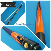 Cobra cue /cobra stick billiard /stik biliar (Blue Saphire)