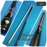 Cobra cue / cobra stick billiard Maroon Dagger
