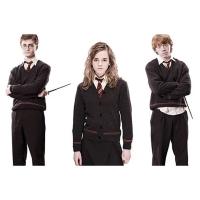 Sweater Hogwarts Harry Potter Classes Lengan Panjang Kaos Gryffindor