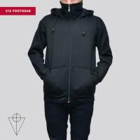 Jaket cowok sweater cowok jaket ninja hoodie sweater turtleneck M L XL