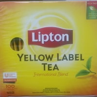 LIPTON YELLOW LABEL TEA ENVELOPED TEA BAGS TEH CELUP 200g