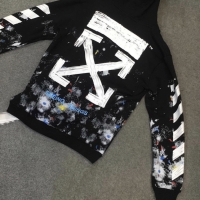 Off White Hoodie Galaxy