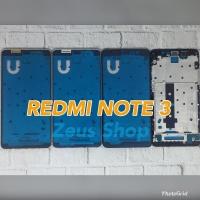 Frame LCD Tulang Tengah Tatakan LCD Bazel Xiaomi Redmi Note 3 - Gold
