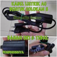 KABEL POWER AC ORI PSX / PS2 / PS3 SLIM / PS4 (COLOKAN BULAT)
