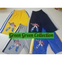 Shorts/ Celana Pendek Boy/ Celana kaos Anak Transformers 4 warna