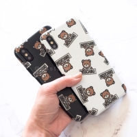 IMD Moschino Bear Case Iphone 6 6S 6+ 6S+ 7 7+ 8 8+ X XS MAX XR