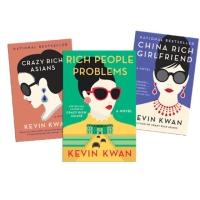 Crazy rich asians, rich people problems, china rich girlfriend - novel