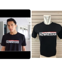 Kaos T-Shirt I Am Indonesian Cotton Combed 30s