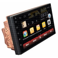 Head unit double din android mtech mm8803 mobil rush