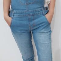 Jumpsuit Jeans Stretch Body Fit Baju Kodok Wanita High Quality.uk27-30