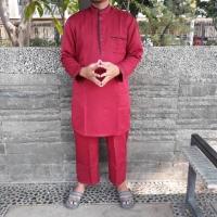 Ser koko pria / setelan ikhwan / stelan ikhwan / set baju muslim pria