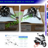 2DP-E1400-02 CRANKSHAFT ASSY, KRUK AS, NMAX 2015
