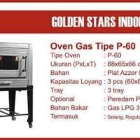 Oven Golden Star P60 khusus JKT berikut ongkir