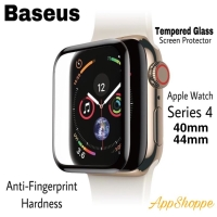 BASEUS APPLE WATCH SERIES 4 FULL COVER TEMPERED GLASS SCREEN PROTECTOR