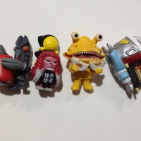 Ultraman termurah paket hemat 4 mini figur langka unik lucu murah toy