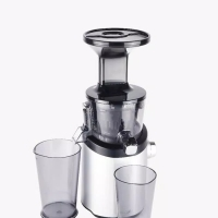 HUROM SLOW JUICER MATT SILVER H-101-SBEA01 NEW ORIGINAL