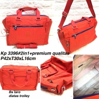 Tas travel kipling bag import bisa gosend
