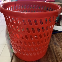 Keranjang tempat tong sampah plastik panda - KECIL