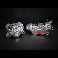 Kaliper Brembo 4P1P dan 2P1P Set CBR250RR ABS With Breket Depan BLKG