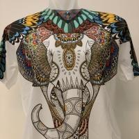 Kaos Modis & Keren motif Gajah