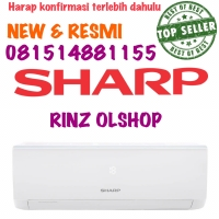 AH-05UCY AC SHARP 0.5PK 05UCY TURBO COOL SERIES NEW RESMI