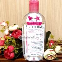 Bioderma Sensibio H20 500 ml BPOM Micellar Water 500ml Kulit Sensitif