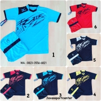 Baju Anak Volly Jersey Olahraga Futsal Kaos Bola Setelan Voli Mizuno