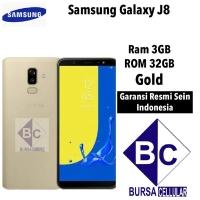 Samsung Galaxy J8 3/32 Garansi Resmi Samsung - GOLD