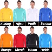 Kaos Polo Shirt Polos / Kaos Kerah / Kaos Polo Lengan Panjang