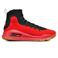 Under Armour Curry 4 - Black Red