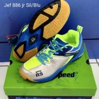 Sepatu Badminton Anak RS Reinforce Speed JF Jeffer 886 JR Junior Ori