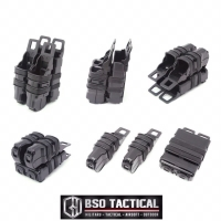 Tactical Fast Mag Pouch Combo Magazine M4 Mag Pistol Molle Airsoftgun