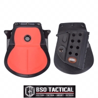 Fobus Tactical Handgun Holster Pistol 1911 with Double Magazine Pouch