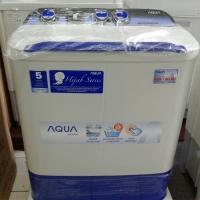 Promo mesin cuci Aqua 781xt 2 tabung