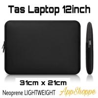 Tas Laptop Case Sleeve Neoprene Zipper Softcase Laptop 12inch