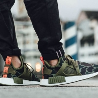 Adidas NMD xr1 duck camo olive green
