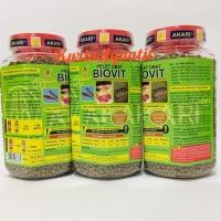 BIOVIT PELET OBAT IKAN HIAS KOI 2mm / 350g / 350gr / 350 gr / gram