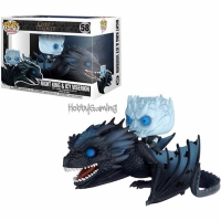 Funko Pop Night King dan Icy Viserion Game of Thrones Action Figure