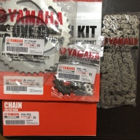 Gear Set Paket Kit Gir Rantai Gearset Roda Yamaha Vixion Old Lama 3C1