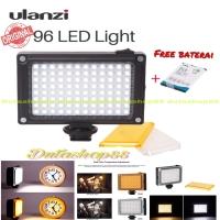Lighting ulanzi 96 led light video & photo