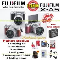 FUJIFILM X-A5 KIT 15-45MM OIS II PAKET MUMER FUJI XA5