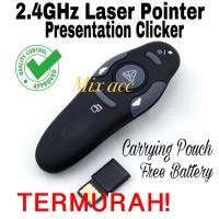 Wireless USB Presenter Remote Control Laser Pointer Pen