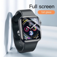 Baseus Premium Tempered Glass Full Glue For apple watch 4 40 44
